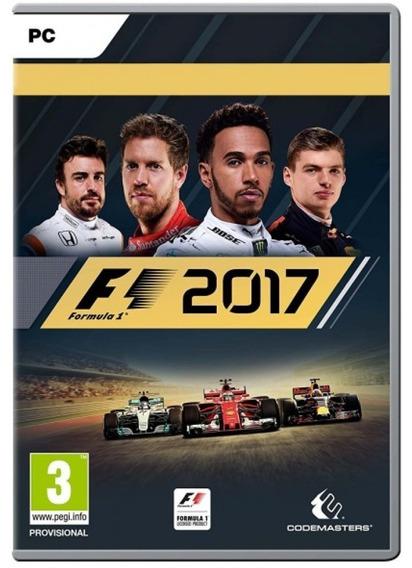 F1 2017 Em Portugues ( Mídia Física ) Pc - Dvd Frete Gratis