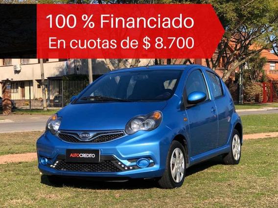 Byd F0 2016 1.0 Full Financiado 100% En Cuotas De $ 8.700