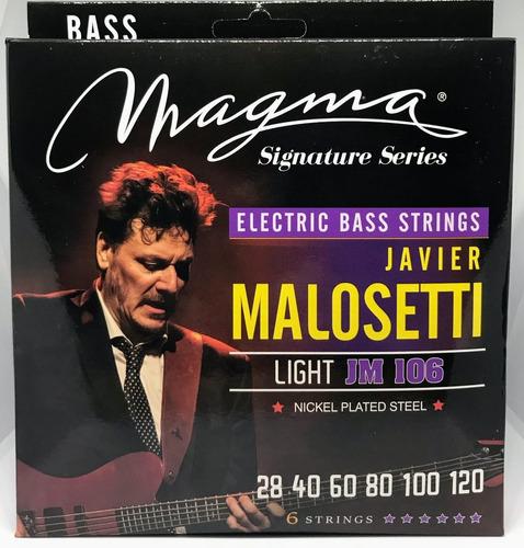 Imagen 1 de 6 de Encordado Magma  Bajo 6 Cuerdas 028-120 Javier Malossetti