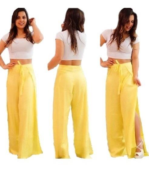 Calça Pantalona Multi Uso Versátil Infinity Envelope 4x1