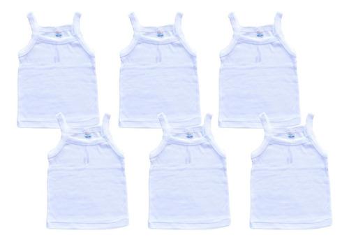 Imagen 1 de 4 de Camiseta Para Bebé Recién Nacido 100% Algodón De Niña