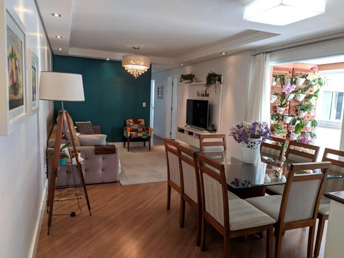 Apartamento Com 3 Dormitórios À Venda, 122 M² Por R$ 850.000 - Jardim - Santo André/sp - Ap6054