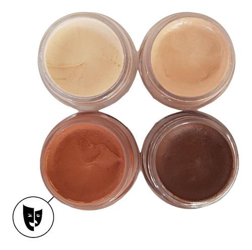 Base Cremosa Maquillaje Titi Mini Pote 5gr - Piel 3/tostado