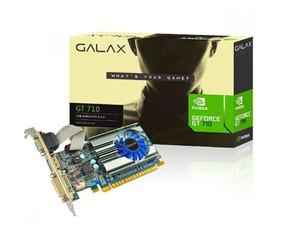 Placa De Video Galax Geforce Gt 710 Passive 1gb Ddr3