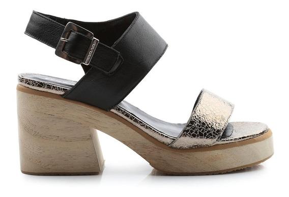 Sandalias De Mujer De Cuero Aimee - Ferraro -