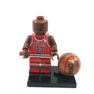Minifigura Lego Michael Jordan Chicago Bulls Baloncesto Nuev