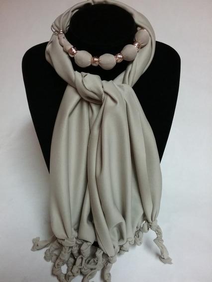 Elegante Collar Pashmina Mascada Bufanda Varios Colores