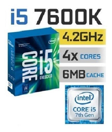 Kit Pc Gamer - Intel I5 7600k + Ga-z270m-d3h