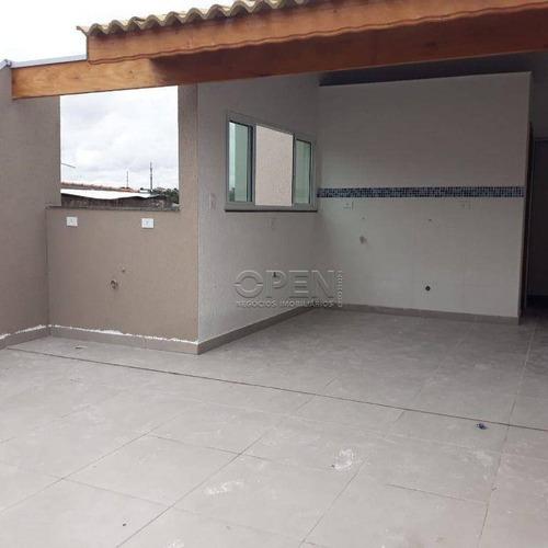 Imagem 1 de 22 de Cobertura Com 2 Dormitórios À Venda, 74 M² Por R$ 320.000,00 - Parque Erasmo Assunção - Santo André/sp - Co2563