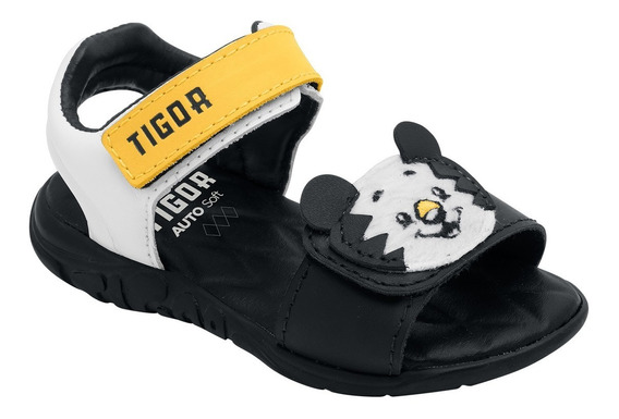 Sandalia Infantil Papete Tigor T.tigre Baby Nova Coleção