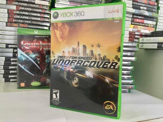 Need For Speed Um Dercover Para Xbox 360 Original