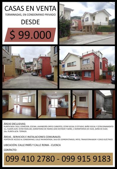 Casas En Venta $99,000