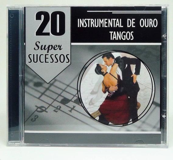 20 Super Sucessos Instrumental De Ouro Tangos Cd Novo Lacrad