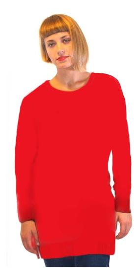Sweater Liso Pura Lana Merino.