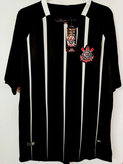 Camiseta Corinthians Timão Listrada