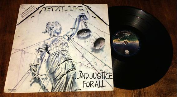 Metallica And Justice For All Vinilo Disco Lp