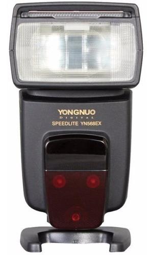 Flash Yongnuo Yn-568ex Ttl Para Nikon Canon 568 Ex Garantia