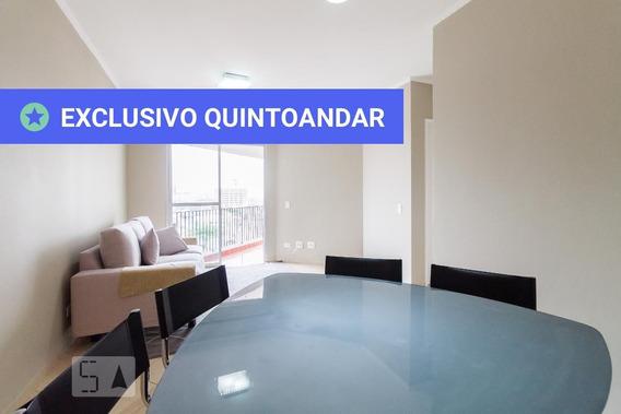Apartamento No 10º Andar Mobiliado Com 2 Dormitórios E 1 Garagem - Id: 892853709 - 153709