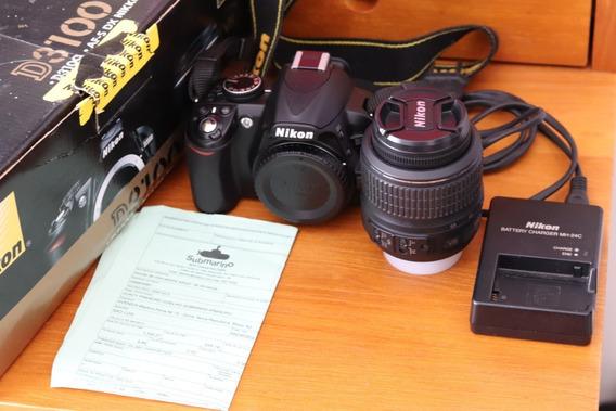 Câmera Nikon D3100 18-55 Vr Kit