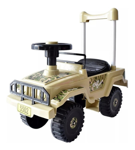 Imagen 1 de 3 de Carro Montable Para Niños Mytoy Jeep Compartimento