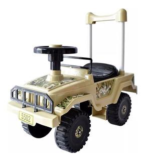 Carro Montable Para Niños Mytoy Jeep Compartimento