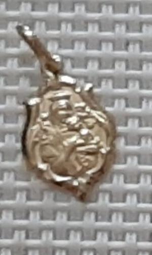 03 Pingentes Em Ouro 18 K 01 Com Brilhantes!