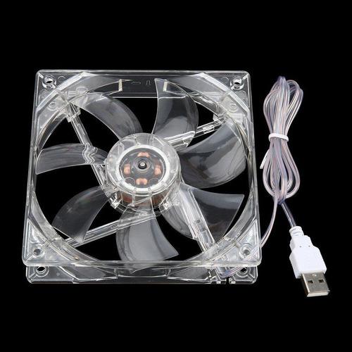 Ventilador Usb Transparente 5v