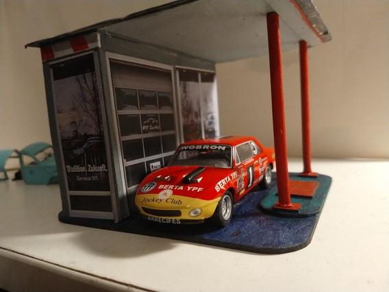Maqueta (diorama) Para Autitos Inolvidable Artesanal 1/43