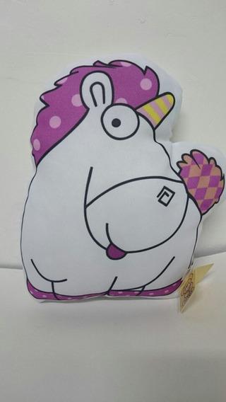Unicornio Malvado Favorito 26 Cm - Pelucia Almofada