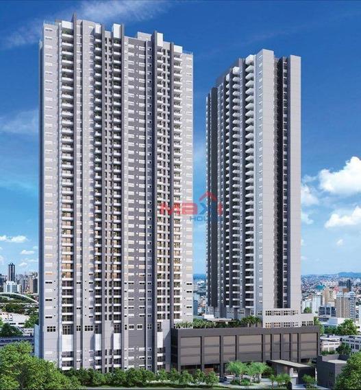 Apartamento 67,62 M², Condomínio Jardins Do Brasil, Reserva Jb, 2 Dormitórios, 1 Suite, 1 Banheiro Social, 1 Vaga Coberta, Centro, Osasco - Ap0984
