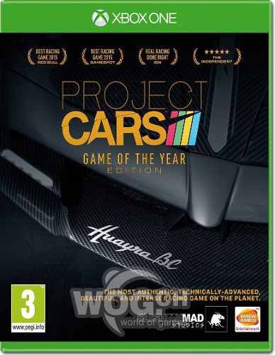 Project Cars Game Of The Year Xbox One Conectado