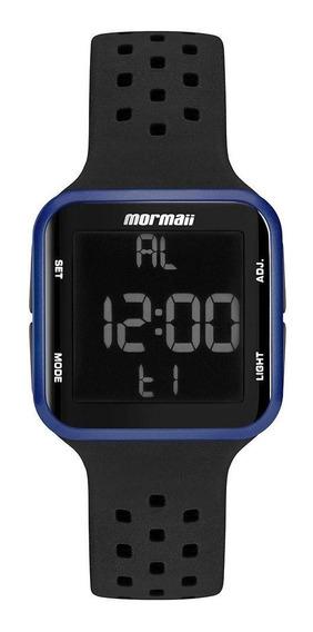 Relógio Mormaii Wave Unissex Azul Preto Mo6600ab/8a Digital