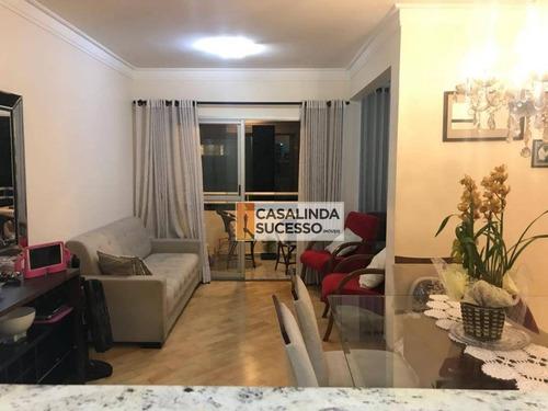 Imagem 1 de 30 de Apartamento 78m² 2 Dormts. 2 Vagas Próx. À Rua Tijunco Preto - Ap5568 - Ap5568