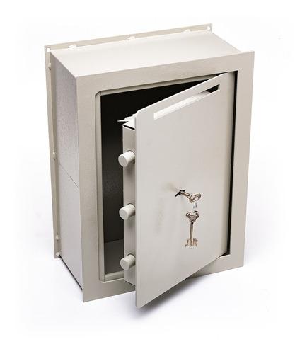 Caja Fuerte 40x30x15 Embuti Buzon Pared Amurar Vert E5 C/b