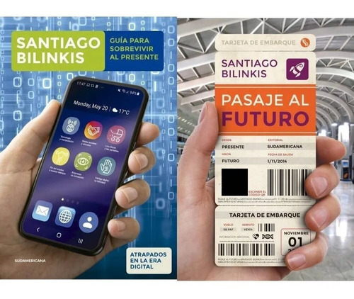 Pack - Pasaje Futuro +  Guía Presente - Bilinkis Santiago