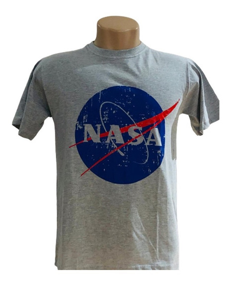 Camiseta Nasa - Logo- Unissex