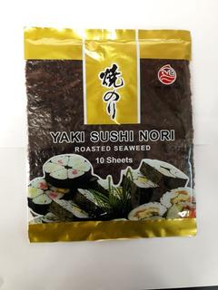 Algas Para Sushi X10 Hojas