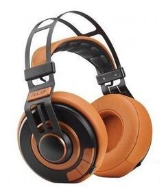 Fone De Ouvido Headphone Wired Large Laranja Ph239 Pulse