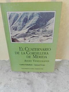 El Cuaternario De La.cordillera De.merida