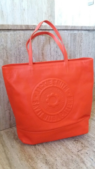 Cartera Jackie Smith En Color Naranja Nueva Sin Uso.