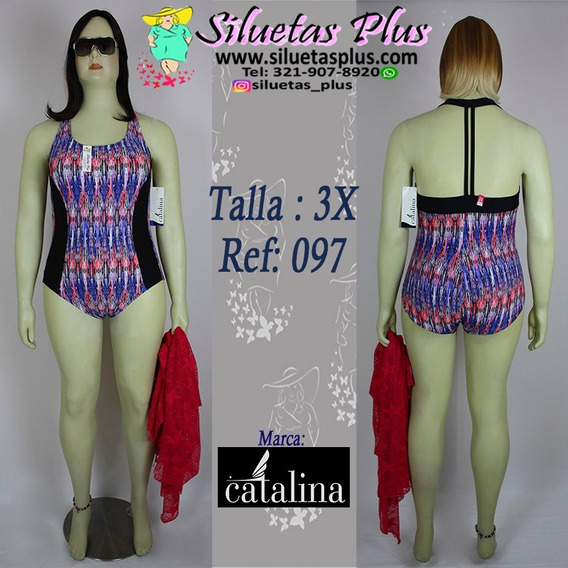 Vestido De Baño Talla 3xl