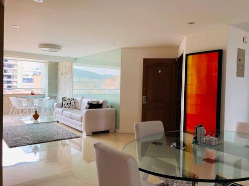 Imagen 1 de 14 de Apartamento Amoblado En Alquiler Laureles,medellín