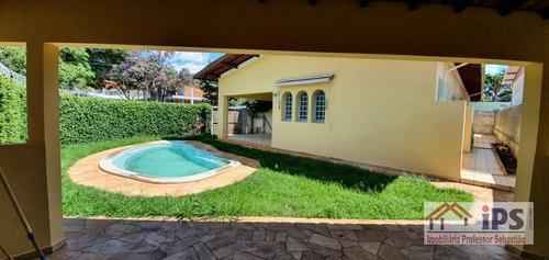 Casa Com 5 Dormitórios À Venda, 198 M² Por R$ 730.000,00 - Cidade Universitária - Campinas/sp - Ca1463