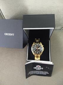 Orient 3 Estrelas Serie Ouro Automático