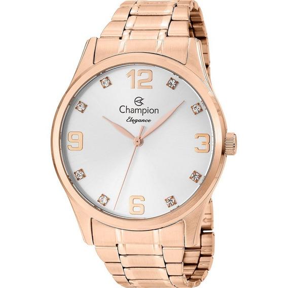 Relógio Feminino Original Champion Rose C/ Nota E Garantia