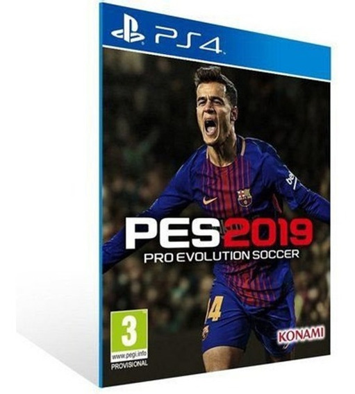 Pes 19 Pro Evolution Soccer 2019 - Ps4 - 1 - Envio Imediato