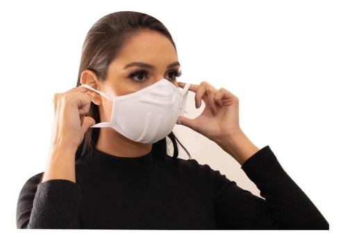 Imagem 1 de 4 de Kit 2 Máscaras De Proteção Laváveis 3d B-mask Hipoalergênica