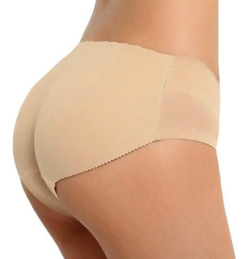 Panty Levanta Glúteos Calzón C/relleno Kisha
