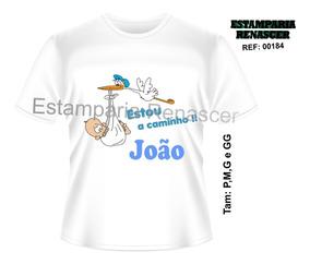 Camiseta Para Gestante Personalizada Bebe A Bordo