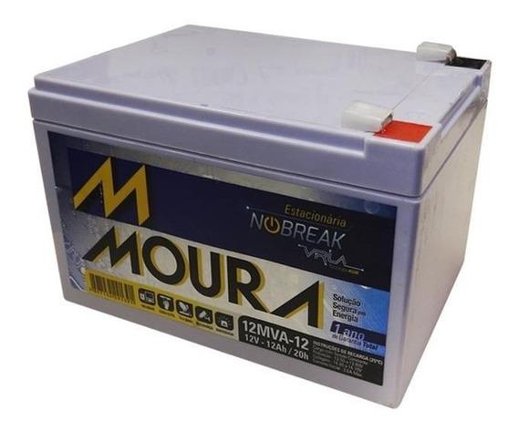 Bateria Moura 12v 12ah Vrla Scooter Elétrica, Bike, Skate